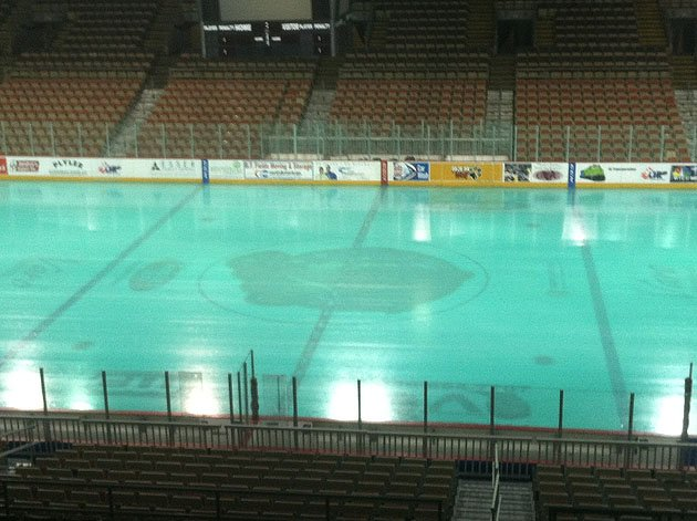 OHL: With Green Ice, Erie Otters Put Your Team's St. Patrick's Day Gimmicks To Shame