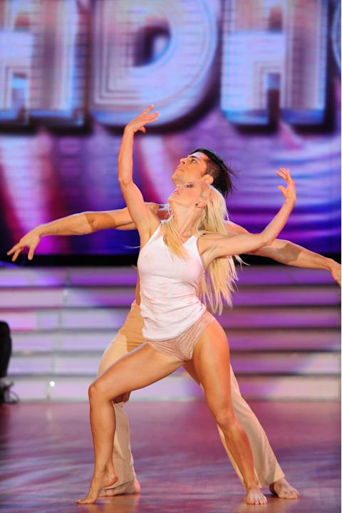 Evangelina Anderson en ShowMatch 2010 / Fotos: Ideas del Sur