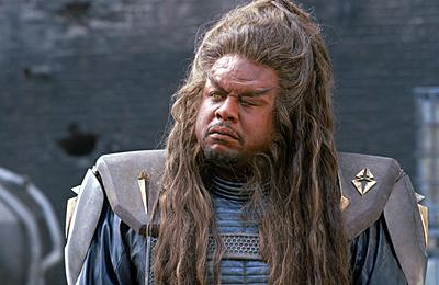 Forest Whitaker as Ker in Warner Brothers' Battlefield Earth