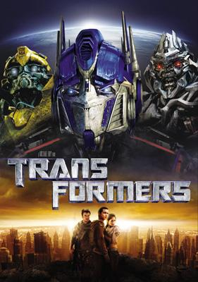 DVD box art for DreamWorks/Paramount Pictures' Transformers