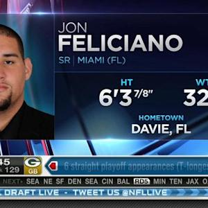 Oakland Raiders pick guard Jon Feliciano No. 128 in 2015 NFL Draft