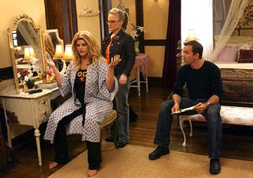 Kirstie Alley, Rachael Harris and Bryan Callen Showtime's Fat Actress