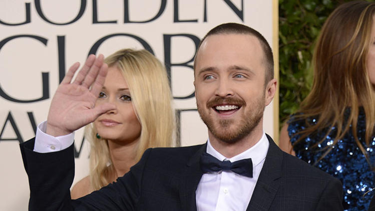 "NBC's ""70th Annual Golden Globe Awards"" - Arrivals: Aaron Paul"