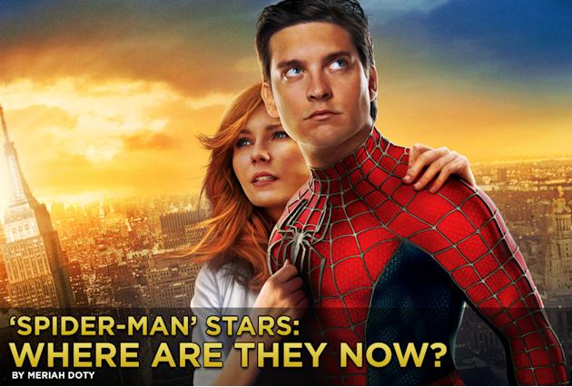 spider man stars where are they now