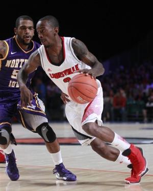 No. 2 Louisville beats Northern Iowa 51-46