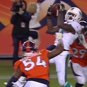 Miami Dolphins quarterback Ryan Tannehill 5-yard TD pass to wide receiver Jarvis Landry