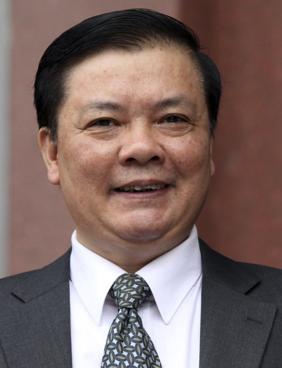 File photo of Vietnam's newly elected Finance Minister Dinh Tien Dung in Hanoi