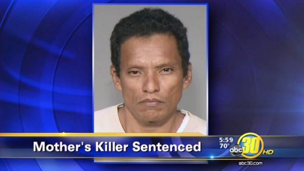 A mother's killer gets 25 years to life in prison