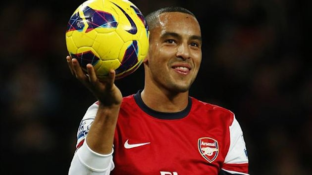 Arsenal's Theo Walcott (Reuters)