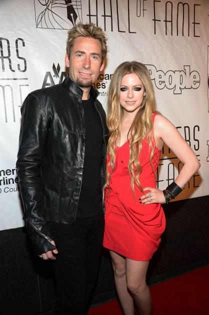 Avril & Chad Make Music Post-Split