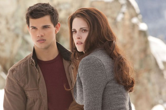Taylor Lautner and Kristen Stewart