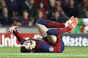 Gerard Pique out four weeks with pelvic injury