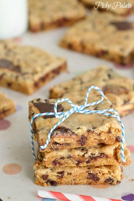 Tagalong Buttercup Bars
