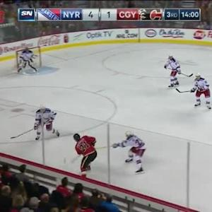 Henrik Lundqvist Save on Mason Raymond (06:01/3rd)