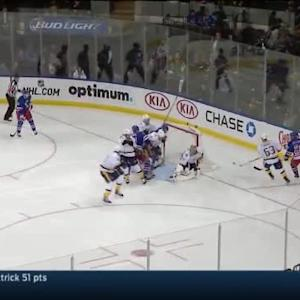 Pekka Rinne Save on Martin St. Louis (01:35/2nd)