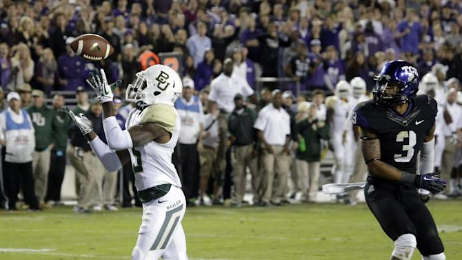 Tense victory at TCU keeps No. 9 Baylor in race