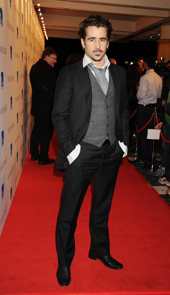 The Way Back UK Premiere 2010 Colin Farrell