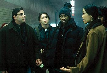 Judd Nelson , Clifton Collins Jr., Usher Raymond , Rosario Dawson and Robert Ri'chard in Light It Up
