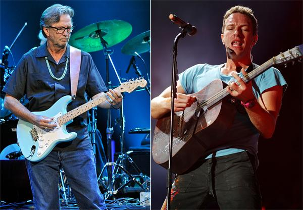 Eric Clapton and Chris Martin Added to '12-12-12' Benefit