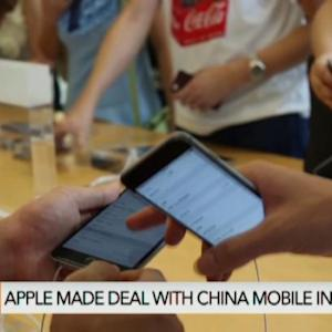 China Said to Beat U.S. in iPhone Sales: FT