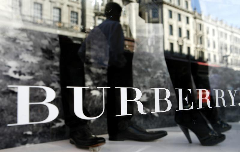 Burberry shares tumble after it cuts profit guidance