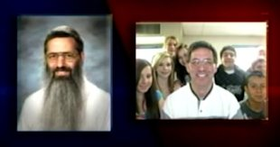 Gary Weddle has finally shaved the beard he started growing on 9/11. Photo: Screengrab from KXLY-TV.
