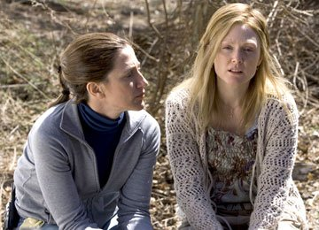 Edie Falco and Julianne Moore in Columbia Pictures' Freedomland