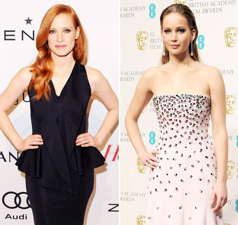 Jessica Chastain: I Don&#39;t Hate Jennifer Lawrence!