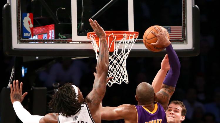NBA: Los Angeles Lakers at Brooklyn Nets