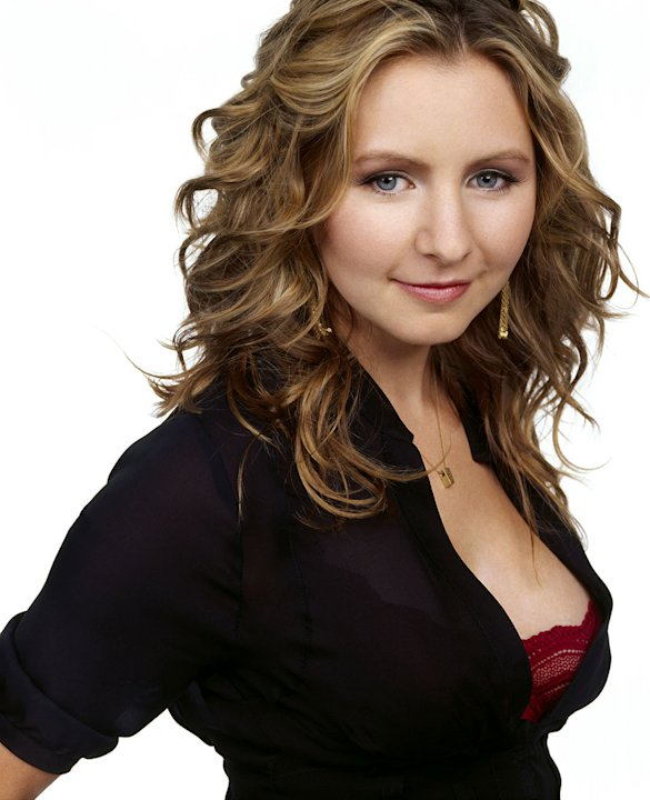 Beverley Mitchell stars as Lucy Kinkirk in 7th Heaven on The CW. 