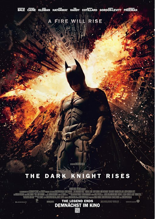 Beste Filme 2012 The dark knight rises