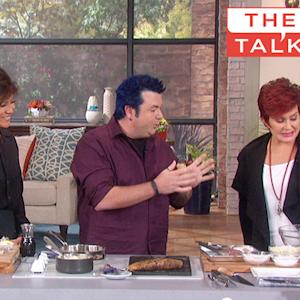 The Talk - Food Festival With Jason Santos