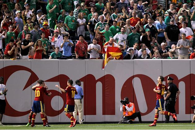Soccer - International Friendly - Spain v Republic of Ireland - Yankee Stadium