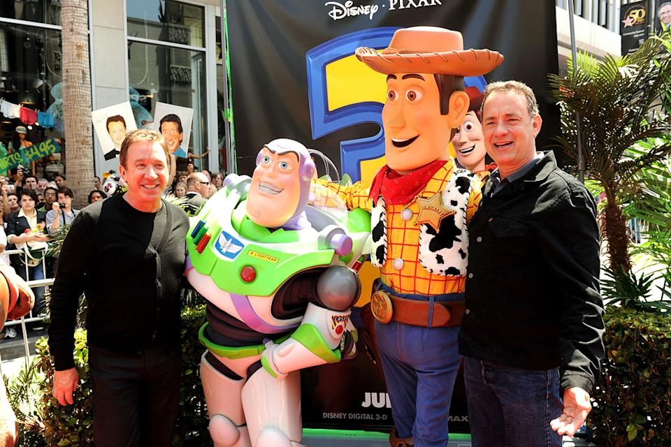 Toy Story 3 LA Premiere 2010 Tim Allen Tom Hanks