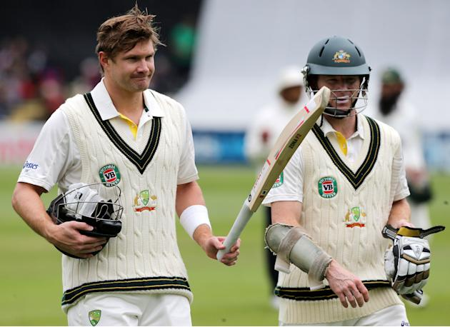 Cricket - International Tour Match - Day One - Worcestershire v Australia - New Road