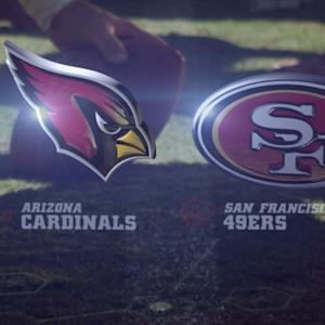 Week 17: Arizona Cardinals vs. San Francisco 49ers highlights
