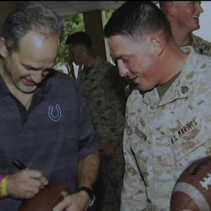 Chuck Pagano, Indianapolis Colts detail 'touching' USO tour