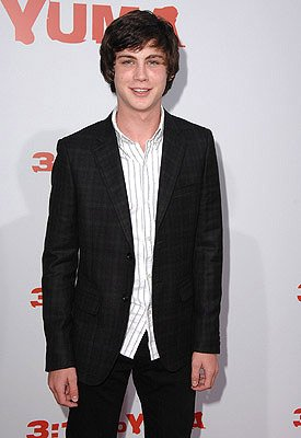 Logan Lerman at the Los Angeles premiere of Lionsgate Films' 3:10 to Yuma