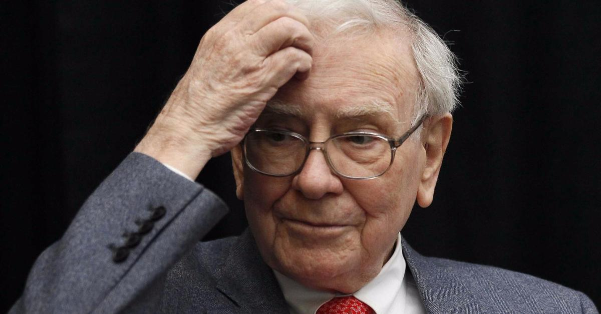 Buffett dumping stocks