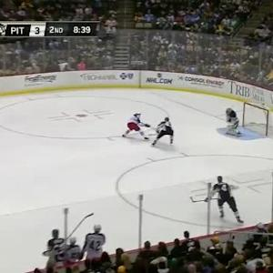 Marc-Andre Fleury Save on Alexander Wennberg (11:23/2nd)