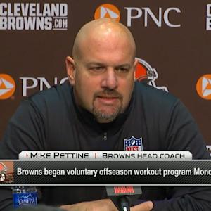 Cleveland Browns head coach Mike Pettine: Johnny Manziel is very much in our plans