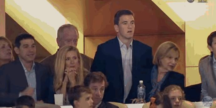 Peyton Manning Just Explained the Expression on Eli Manning's Viral Super Bowl Face