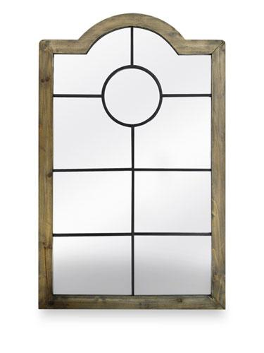 Luxe-Looking Steal: Threshold Windowpane Mirror