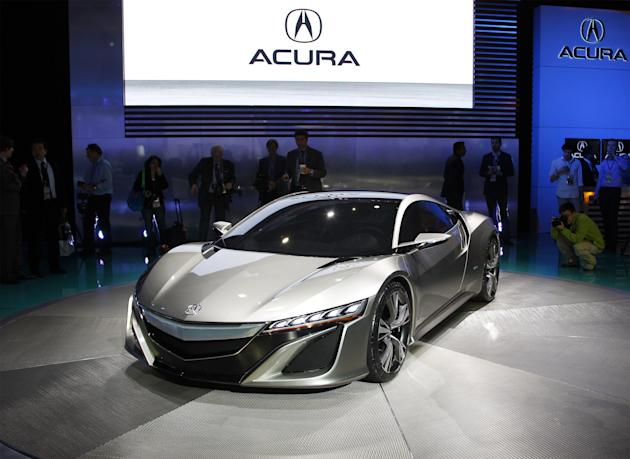 The Best - 2. Acura NSX Concept