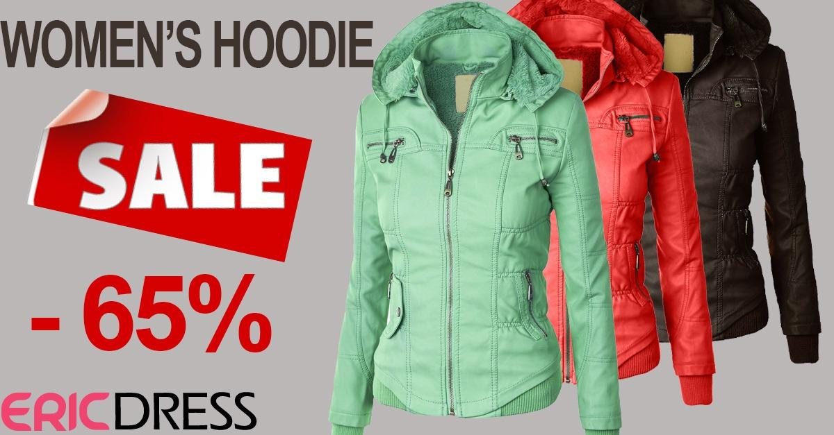 Hot Selling Women's Hoodie Up To 65% Off