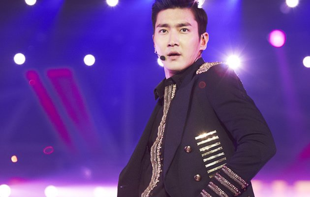Siwon is impossibly suave …