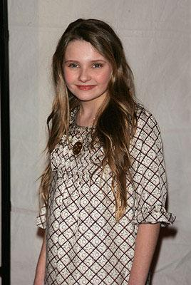 Abigail Breslin at the New York City premiere of Universal Pictures' Definitely, Maybe