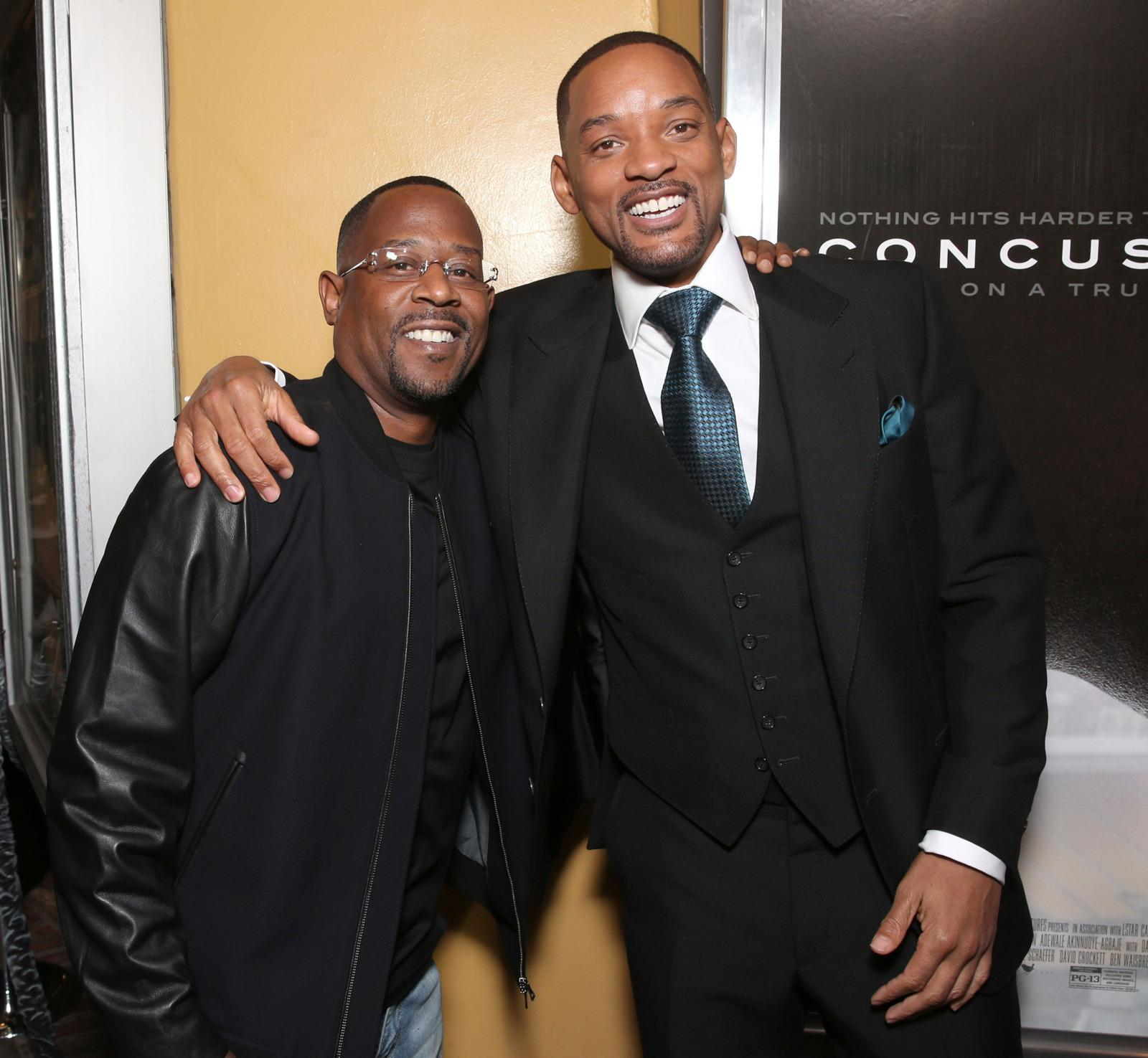 Will Smith Says Bad Boys 3 'Definitely' on the Way Following Profound Hug With Martin Lawrence