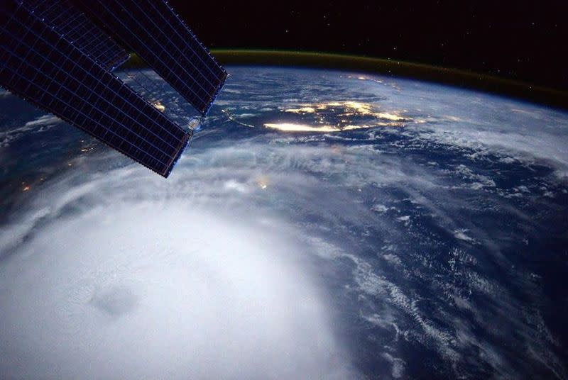 This is what Hurricane Joaquin looks like from space