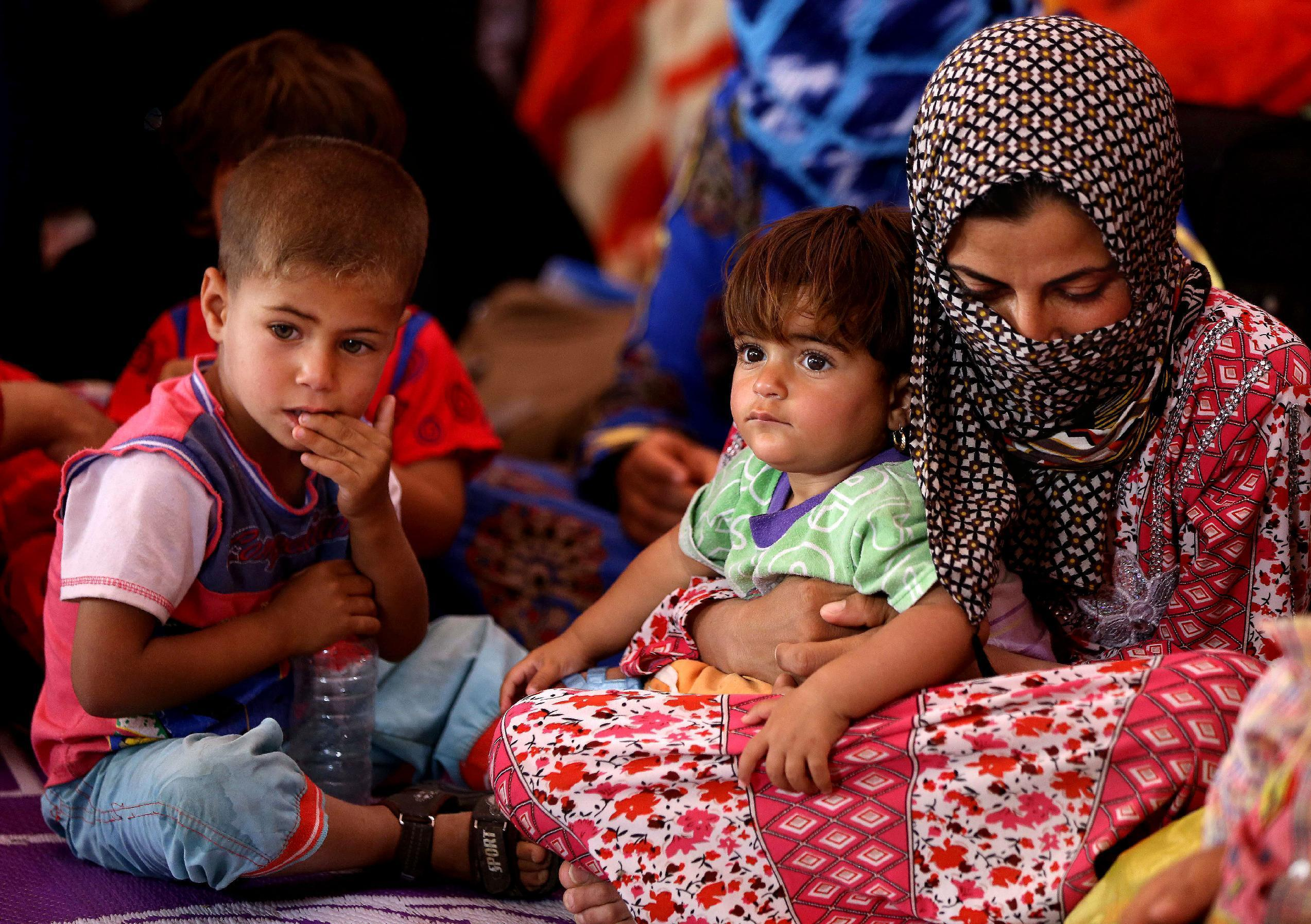 Report: 2.2 million Iraqis displaced by Islamic State group